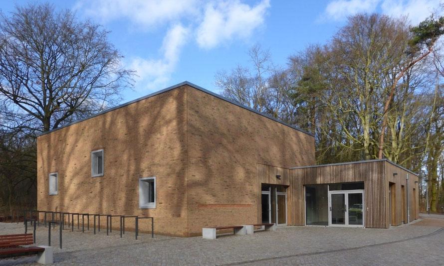 Foto vom GemeindeChorHaus St. Johannis in Rostock, Außenansicht