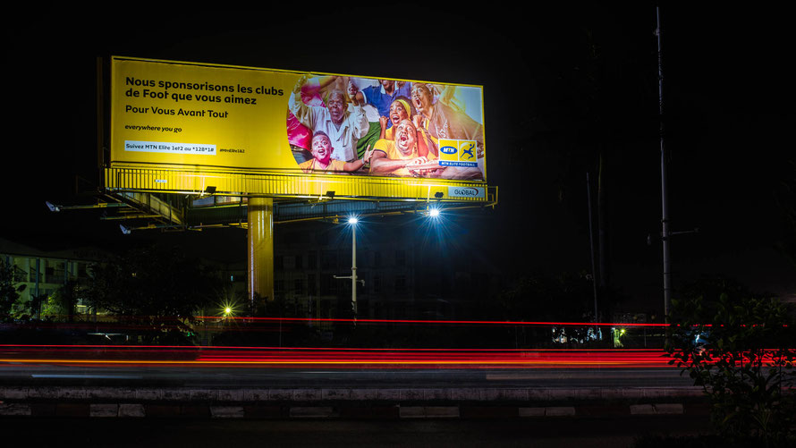 Campagne: MTN ELite One, Directeur artistique: Bibi Benzo, Photographe: Zacharie Ngnogue, Agence: MW DDB, Client: MTN Cameroon