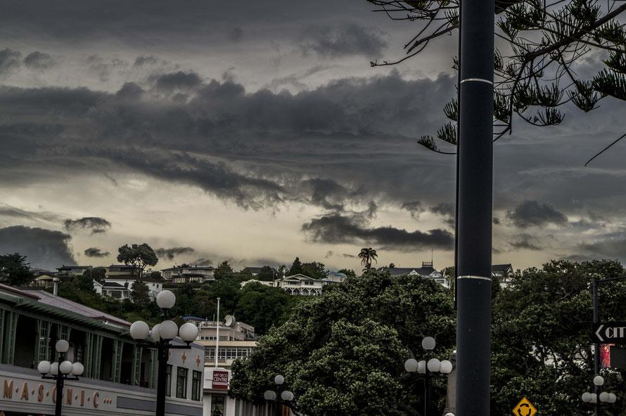 Der Himmel über Napier