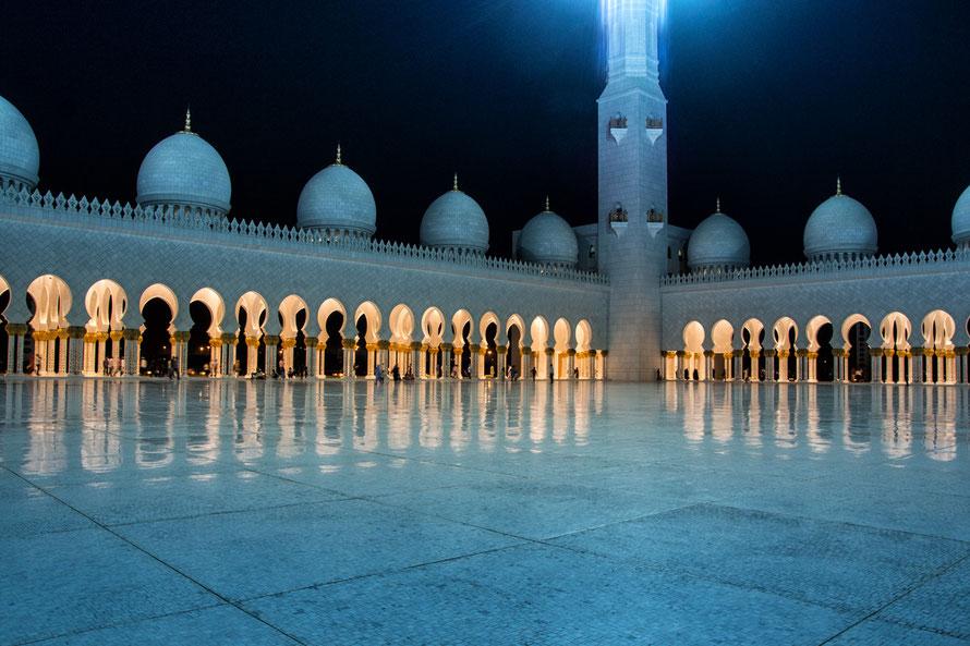 Die Scheich-Zayid-Moschee