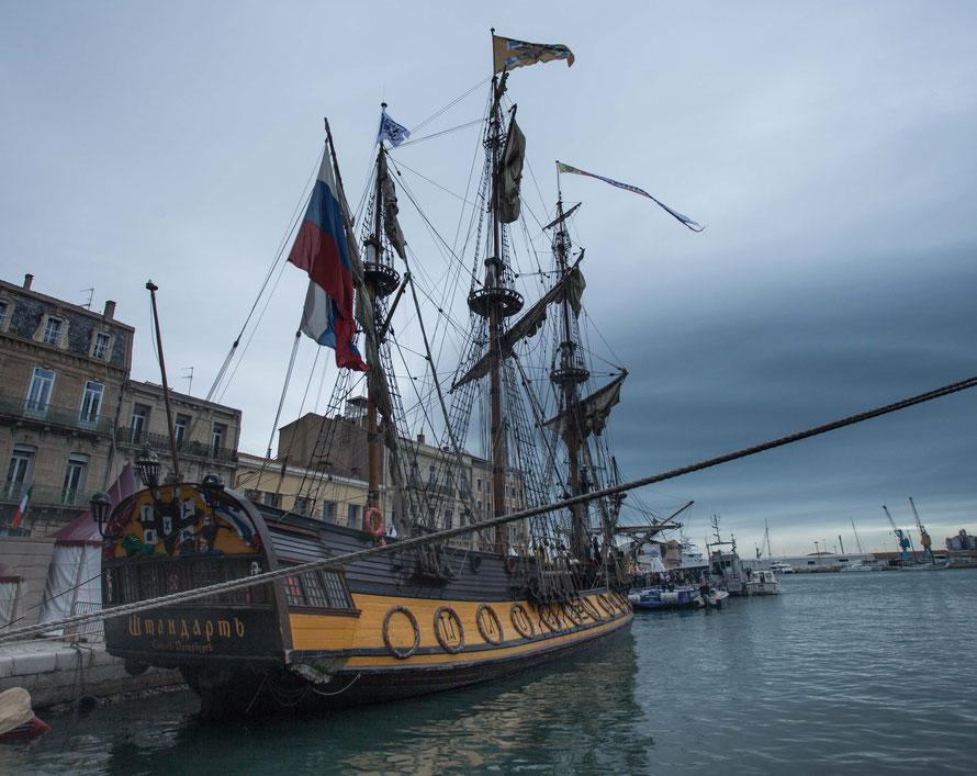 Le Shtandart - bateau russe