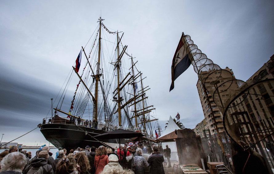 Le Kruzenshtern - bateau russe