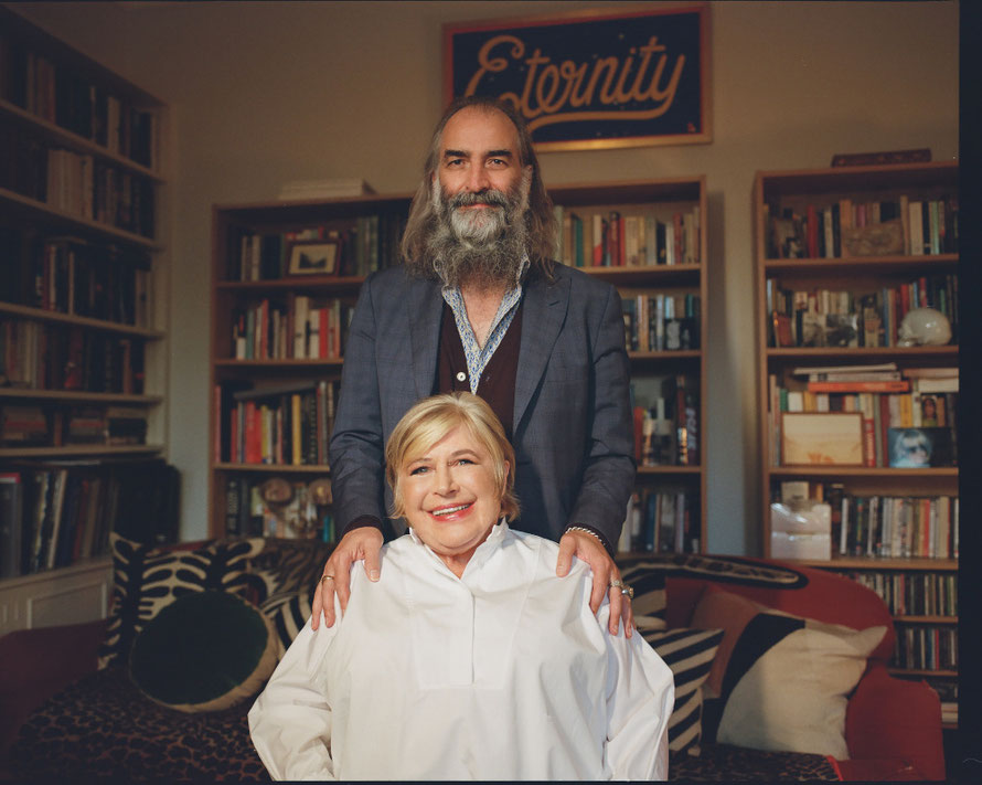 Marianne Faithfull & Warren Ellis  (Photocredit: Rosie Matheson)