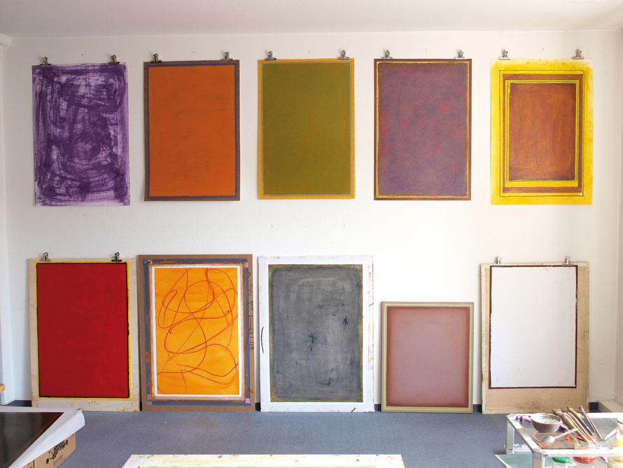 Atelieransicht 2014