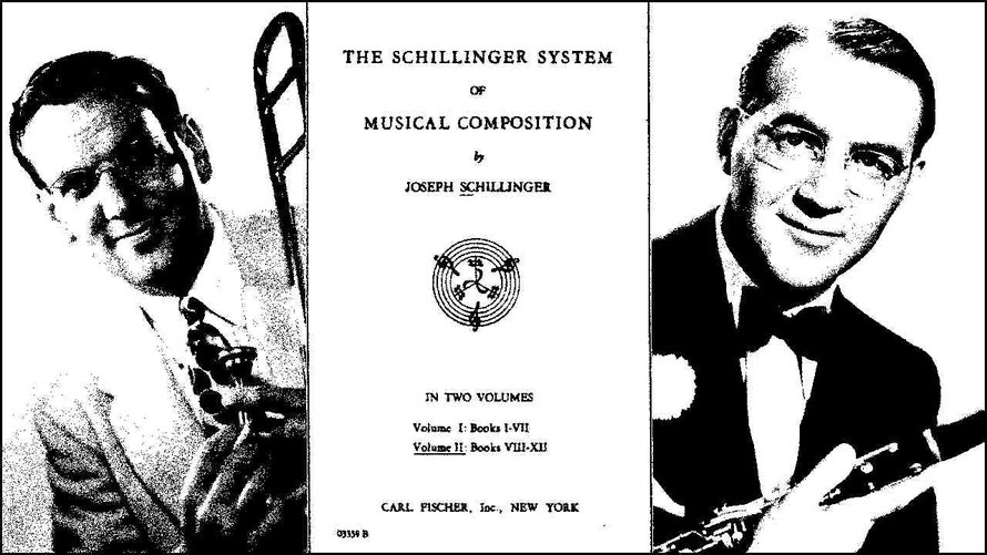 Glen Miller and Benny Goodman were both trained in the Schillinger system of musical composition