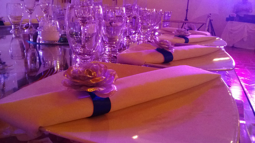 servilleta mesa formal
