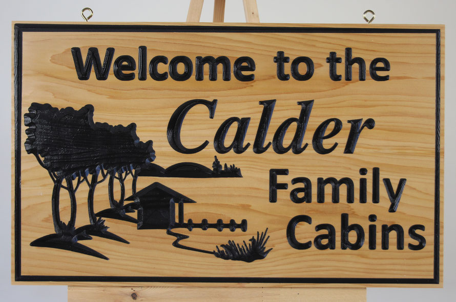 "F062 Select Western Red Cedar 14x23""  Font""  Cardiff Bold Italic and Calibri"