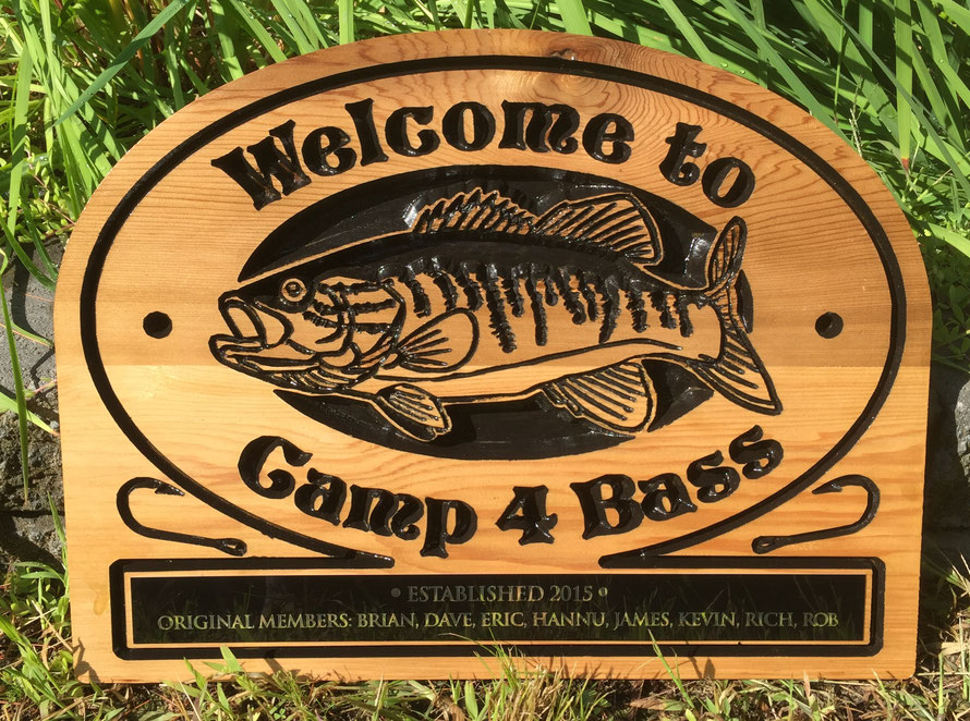 """F105 - Select Western Red  Cedar Sign approx. 14x18"""""""