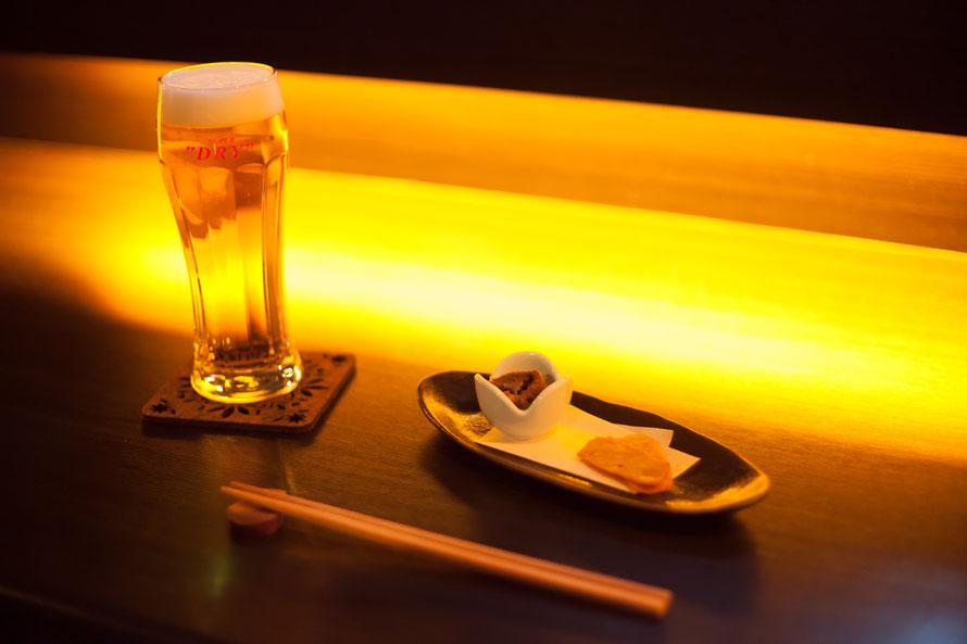チャージとビールの画像