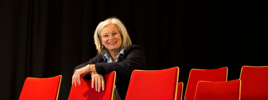 Protrait: Franziska Neubecker. Initiatorin und Gründerin der LichtwarkSchule. Foto: Dr. Reimar Palte