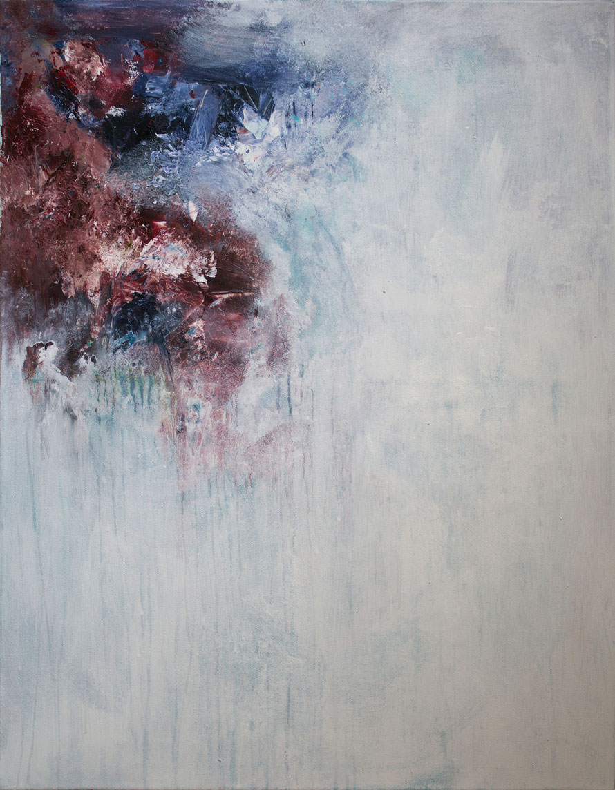 o.T 2014-07 | Acryl auf Leinwand | 90x70cm | www.sascha-dettbarn.de