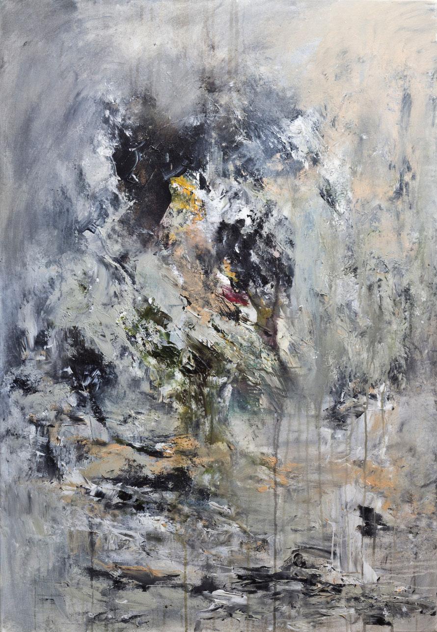 o.T 2015-07 | Acryl auf Leinwand | 100x70 cm | www.sascha-dettbarn.de
