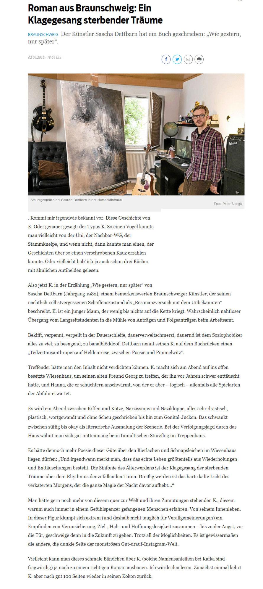 Braunschweiger Zeitung 02.04.2019