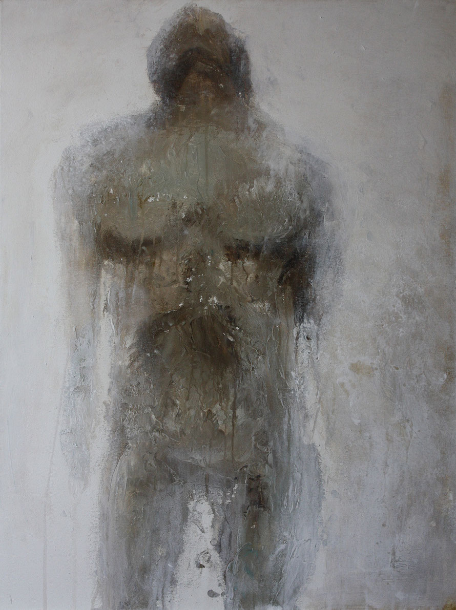 """Fragmente"" 2013-20 | Acryl auf Leinwand | 60x80cm | www.sascha-dettbarn.de"