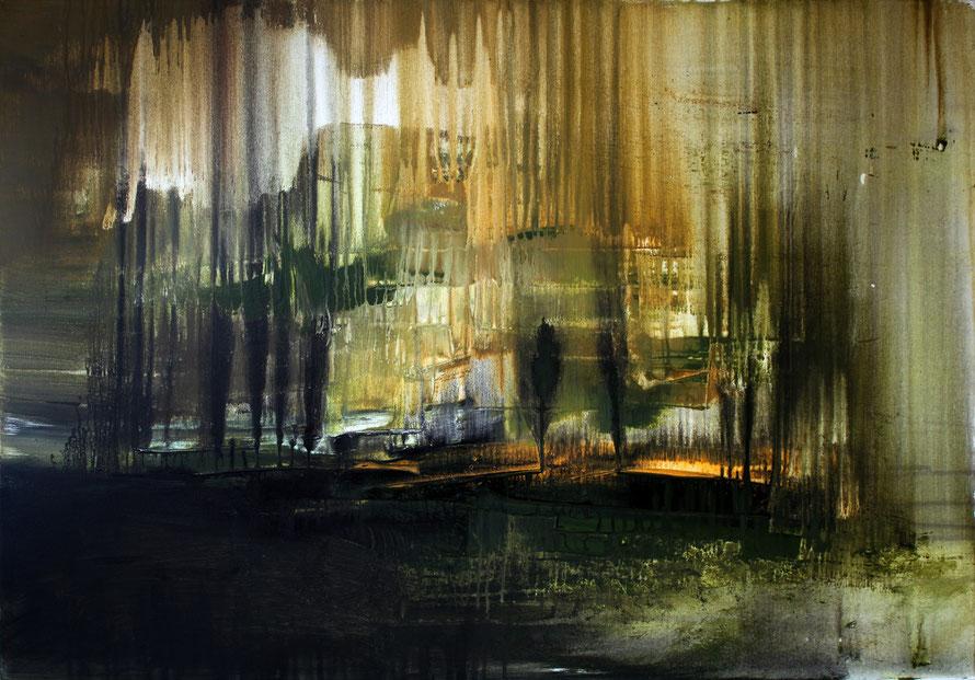 o.T 2012-16 | Acryl auf Leinwand 100 x 70 | www.sascha-dettbarn.de ***