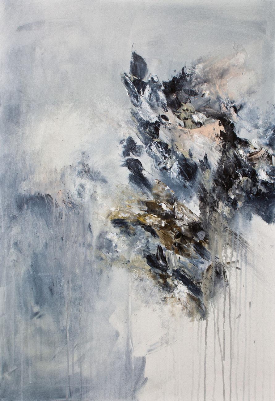 o.T 2015-15 | Acryl auf Leinwand | 100x70 cm | wwwsascha-dettbarn.de