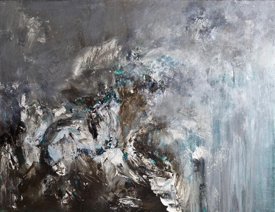 o.T 2015-09 | Acryl auf Leinwand | 80x60 cm | www.sascha-dettbarn.de