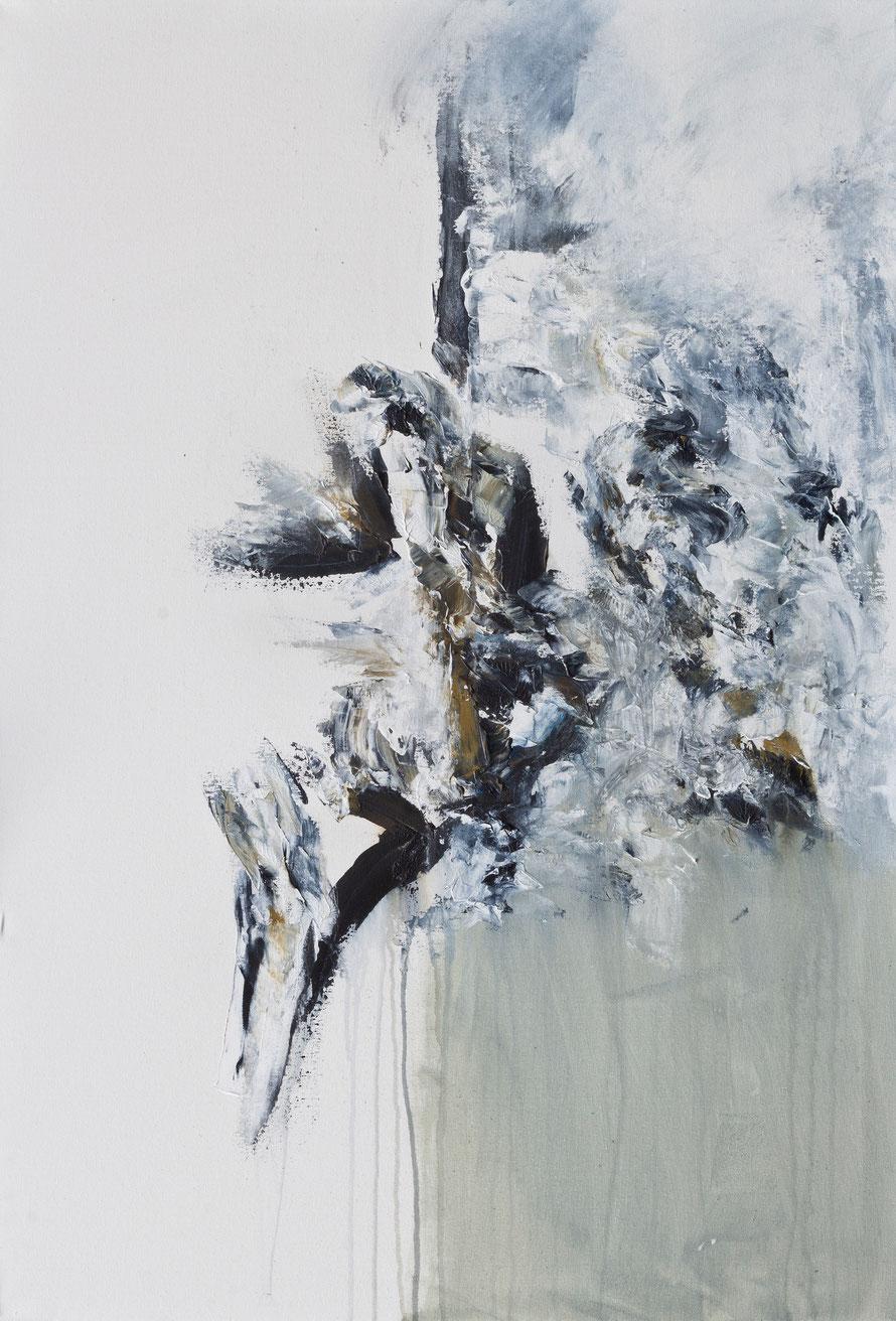 o.T 2015-14 | Acryl auf Leinwand | 100x70 cm | www.sascha-dettbarn.de