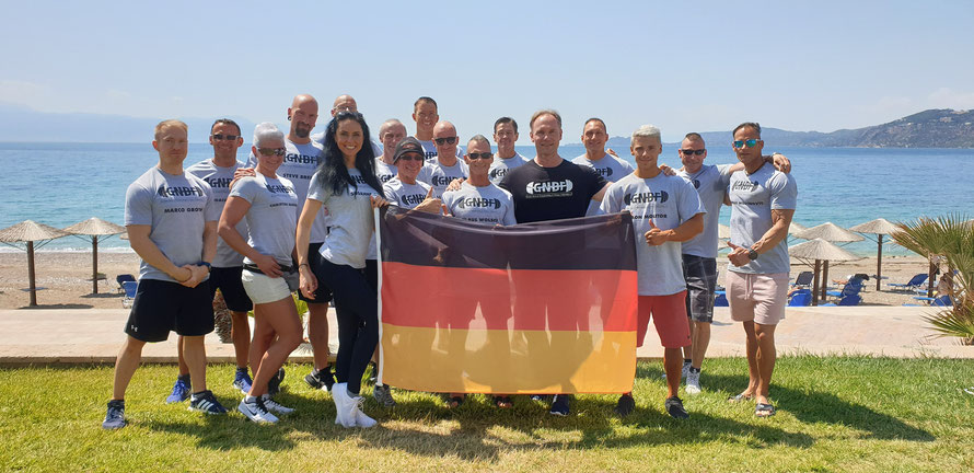 """Team Germany"" bei den INBA/PNBA World Championships 2019 in Loutraki (Griechenland)"