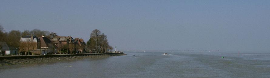 St Valery sur Somme - balade en bateau - Le Hourdel - visite de la  Baie de Somme