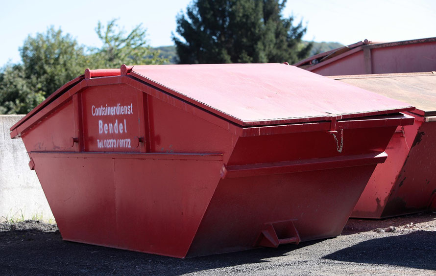 Containerdienst in Menden