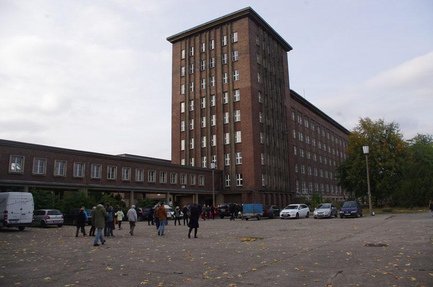 Außen Aufnahme vom Block A Funkhaus Berlin
