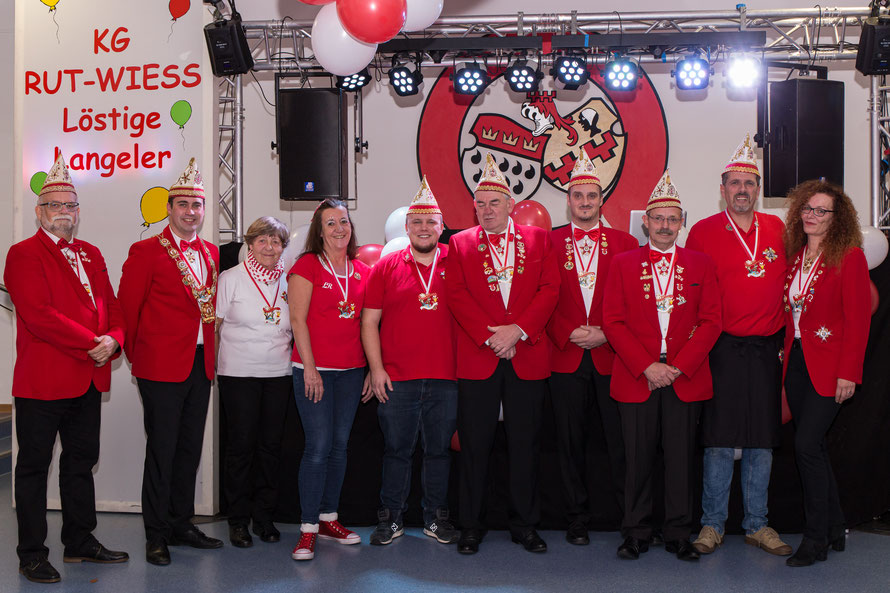 von links nach rechts: Hans-Jürgen Butschan, Tom Pfeiffer, Anneliese Reichwein, Ute Pfeiffer, Kristof Malinski, Horst Fischer, Marco Geister, Rohnny Renquin, Georg Melcher, Marion Neumann,