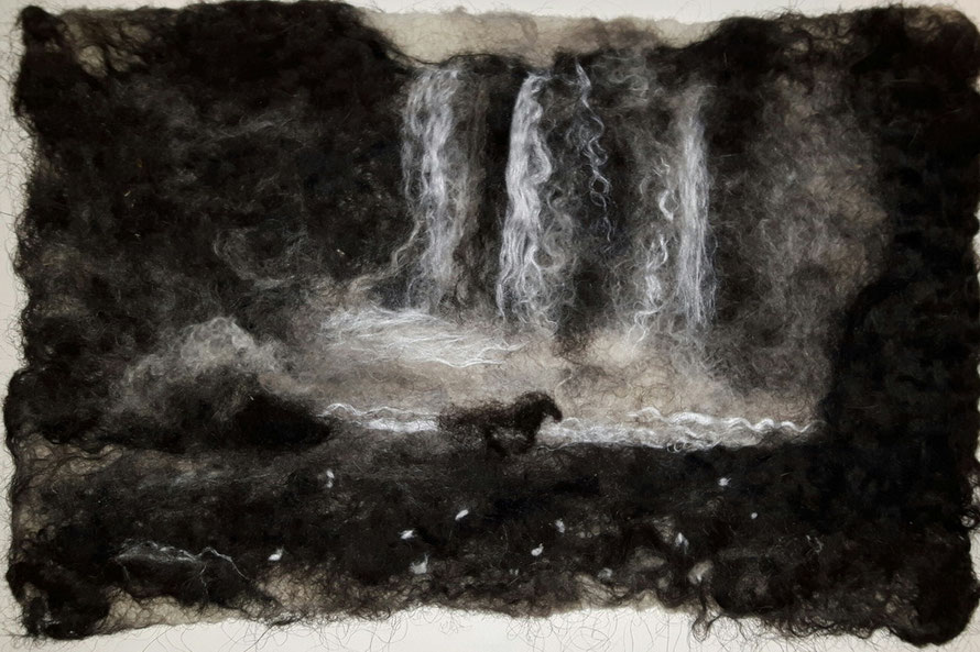 Icelandic Wool Painting