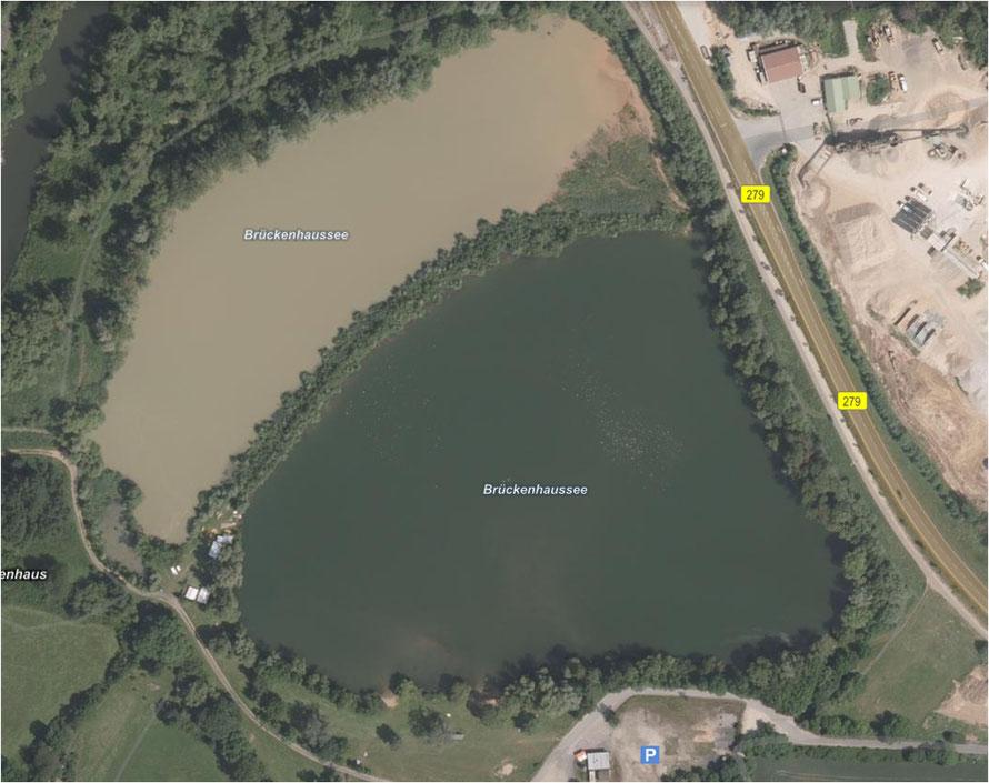"""Unser """"Stadtsee"""", offiziell auch Brückenhaussee"""