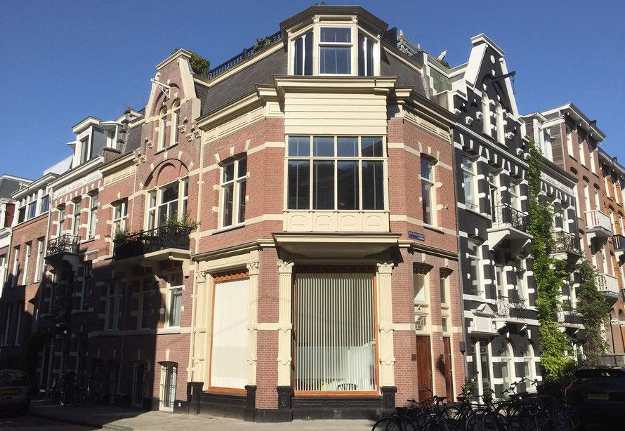 De praktijk aan Van Eeghenstraat 36, Amsterdam
