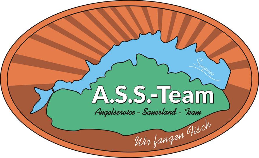 Unsere Liebe, unsere Heimat- der Sorpesee. Unser altes A.S.S.-Team Logo von 2016-2020