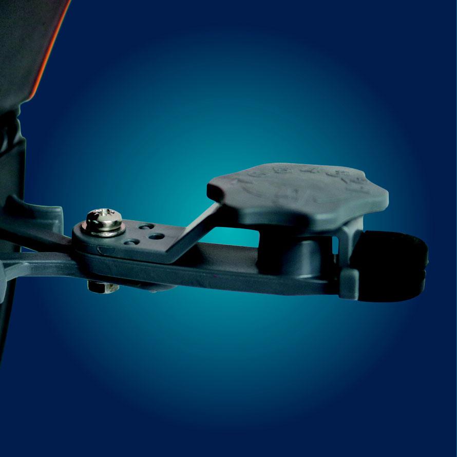 Die Besonderheit am Release Clip ist die Einstellbarkeit in 7-Stufen. Von Zart (ca. 330g Zugkraft) bis Hart (ca. 1100g Zugkraft). Damit können fast alle Wünsche abgedeckt werden! Ohne Werkzeug abnehmbar! Sehr gut