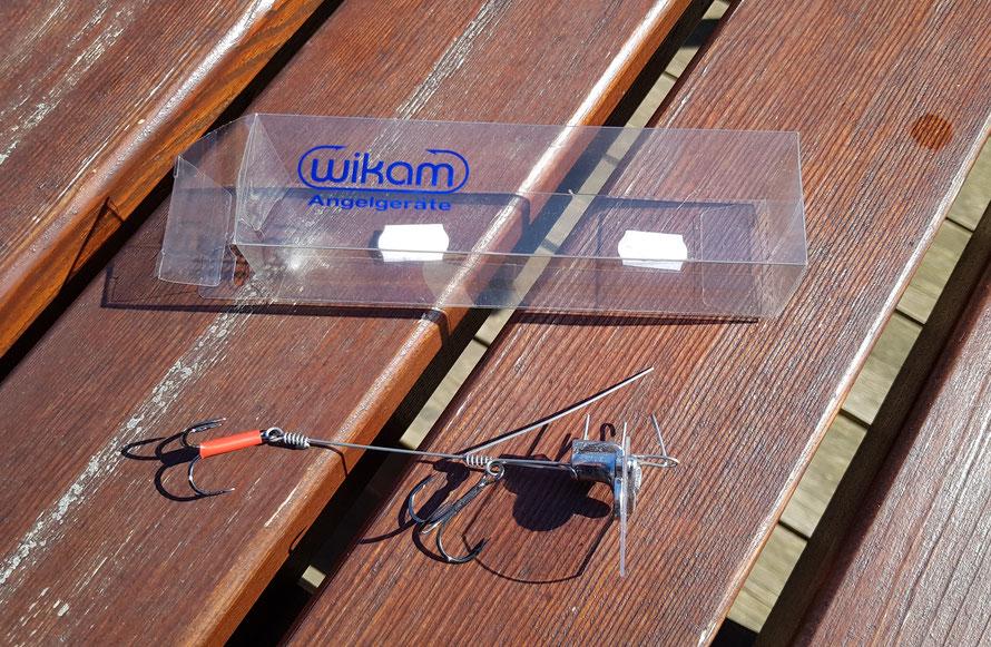 Die Wikam Wurfsysteme gibt es in unterschiedlichen Längen (siehe Tabelle unten). Sie sind geeignet für Shads und Natur-Köderfische. Mit Owner ST-36 Angelhaken ausgestattet. Petri Heil