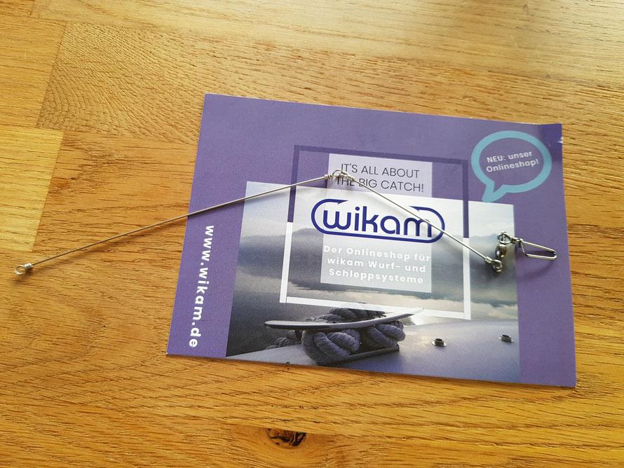 Die Wikam Spinnstange wurde speziell für die Schlepp- und Wurfsysteme entwickelt. Alle Infos auf www.wikam.de