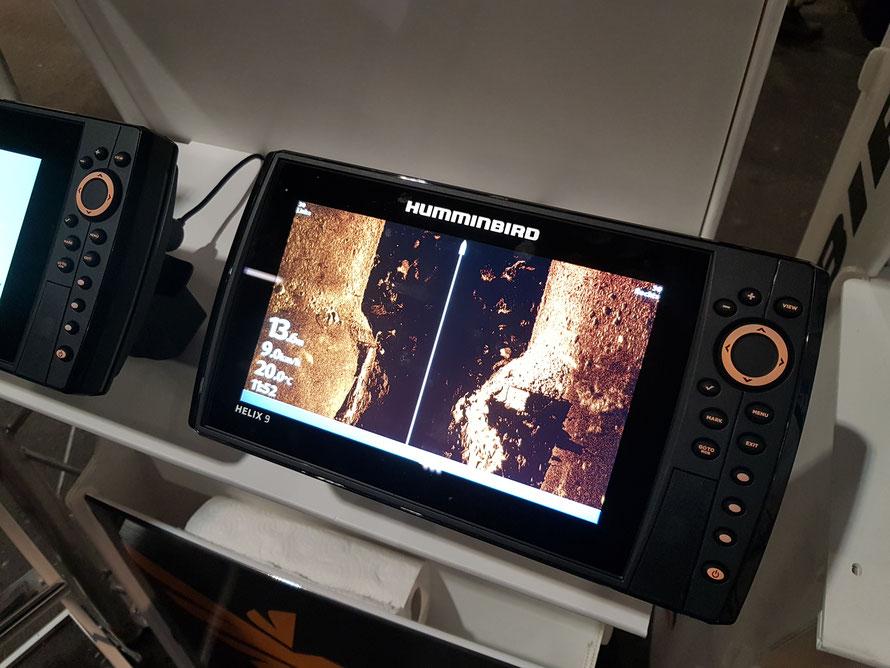 Sidescan oder Side Imaging wird immer mehr Standard bei modernen Geräten