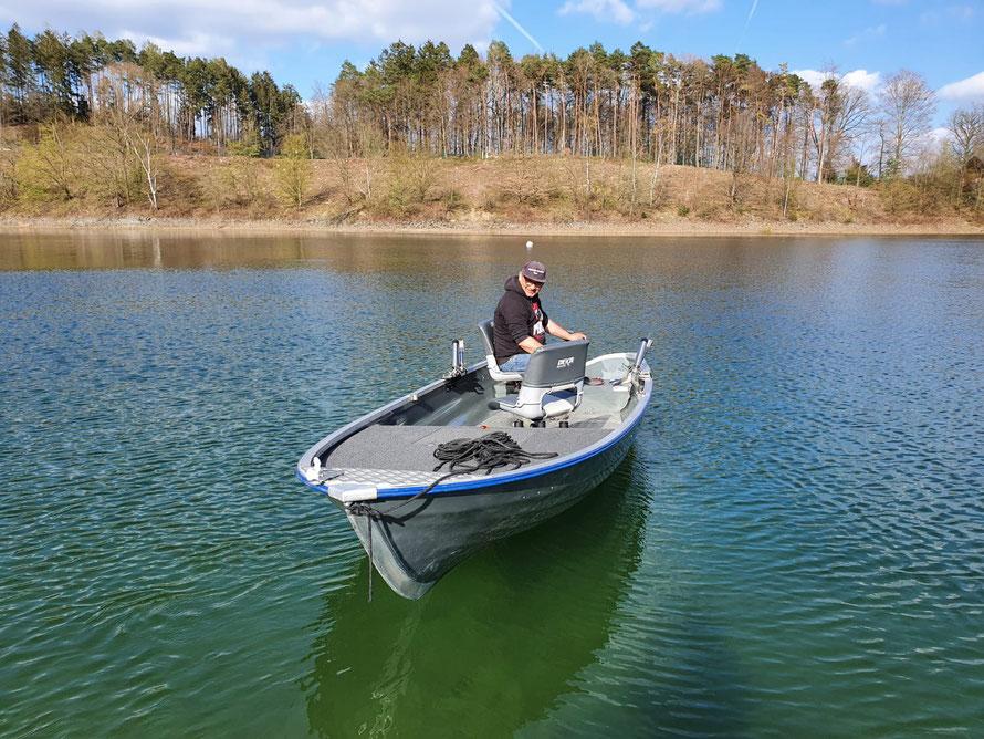 Das Linder Fishing im Wasser! Im Herbst/Winter 2021/2022 machen wir mit unseren Umbau weiter....Tight Lines