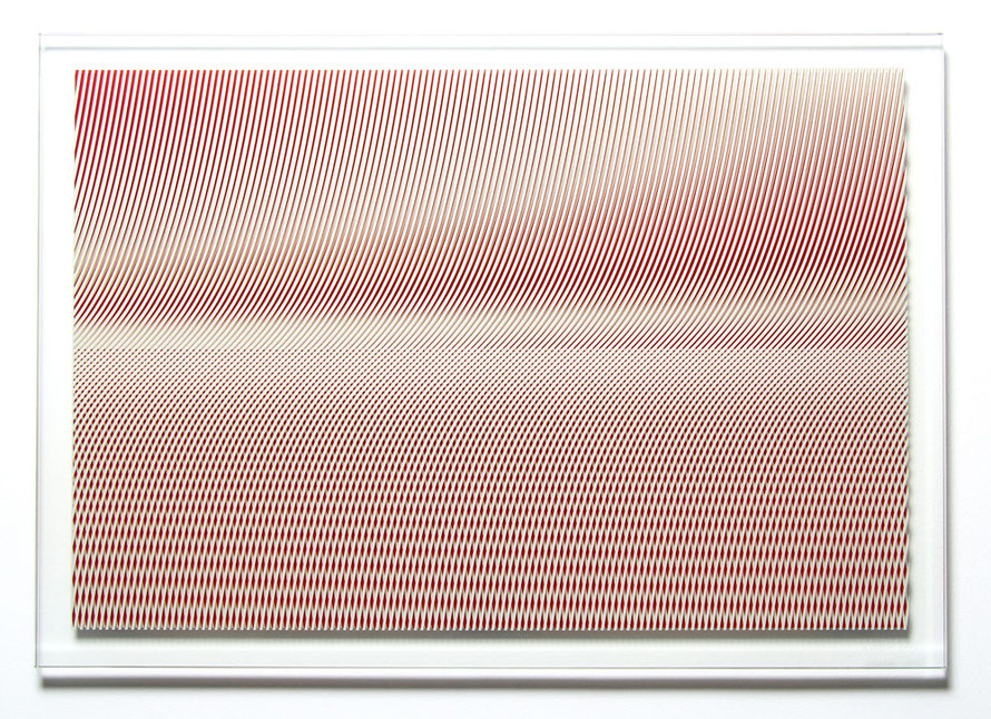 New Horizon |printed, laminated glass | 70 x 100 cm | 2012 | ●