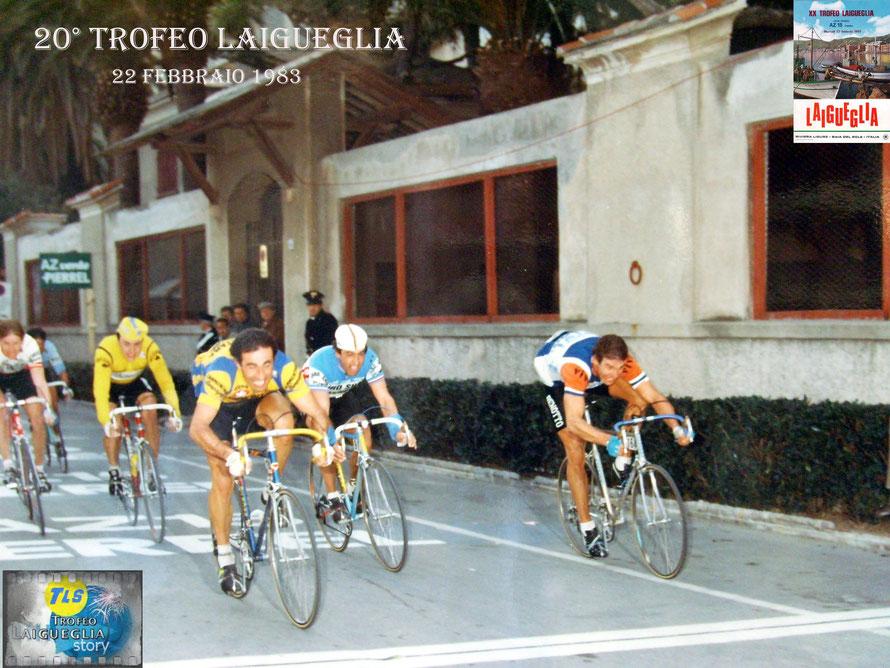 Foto courtesy: Foto courtesy Claudio Torelli per TLS. L'arrivo vittorioso di Torelli davanti a Braun, Vigoroux, Van der Poel e Paganessi. Grazie Claudio della bella foto.