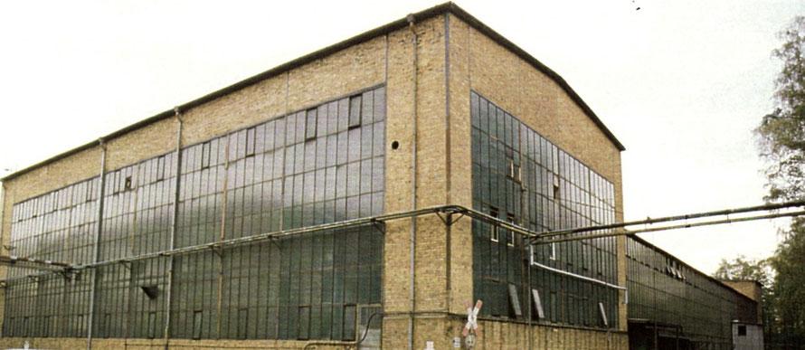 Neue Halle Mechanische Werkstatt Laubusch