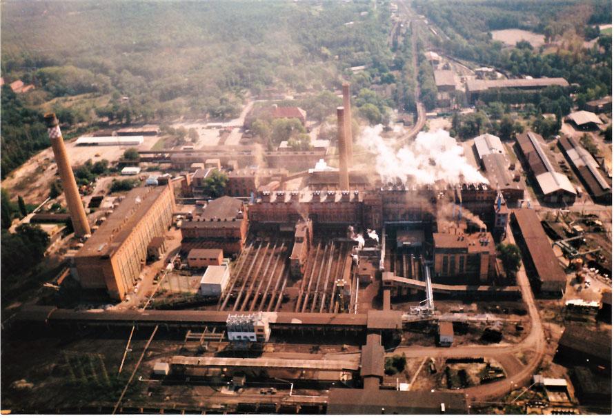 Luftbild Braunkohlenwerk Laubusch