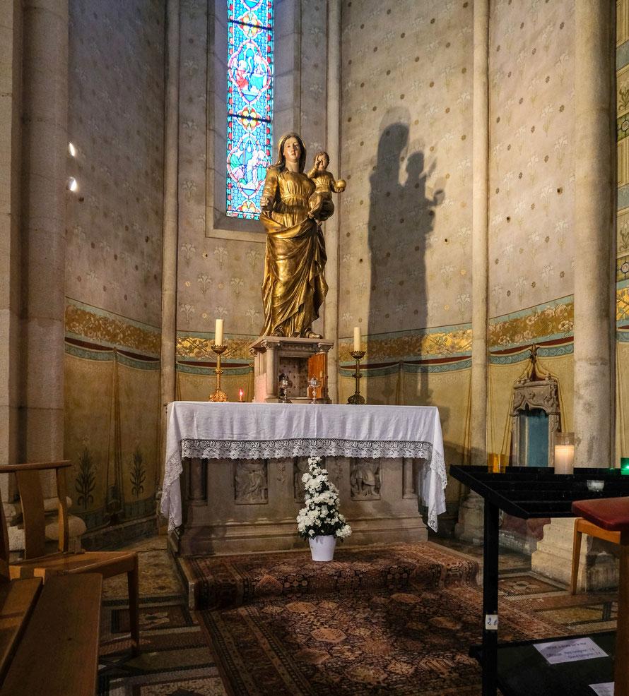 Le Reposoir, après la messe du Jeudi Saint