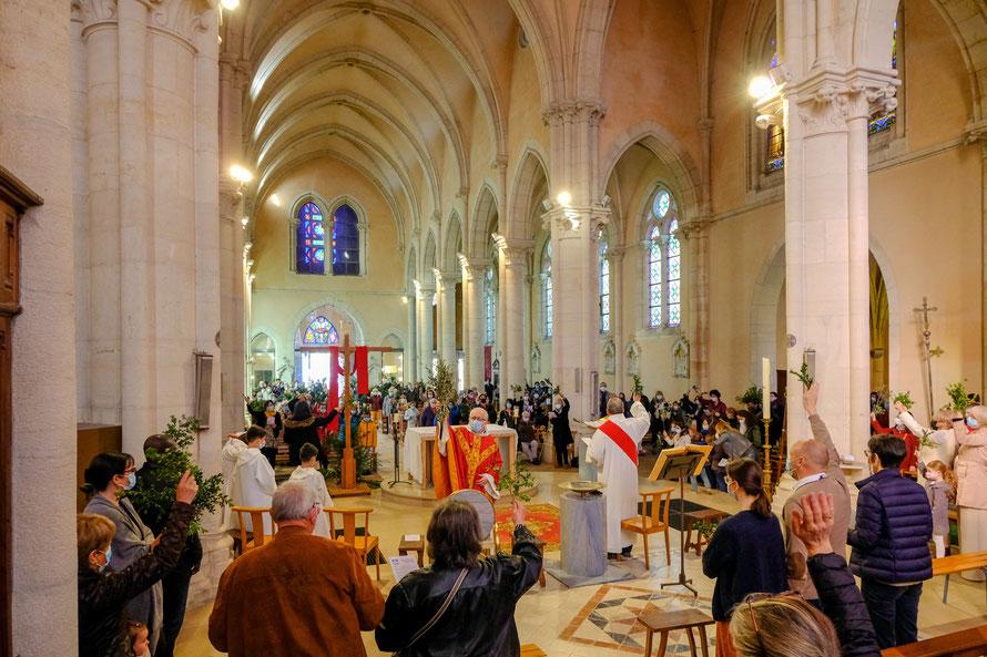 Bénédiction des Rameaux, dimanche 28 mars