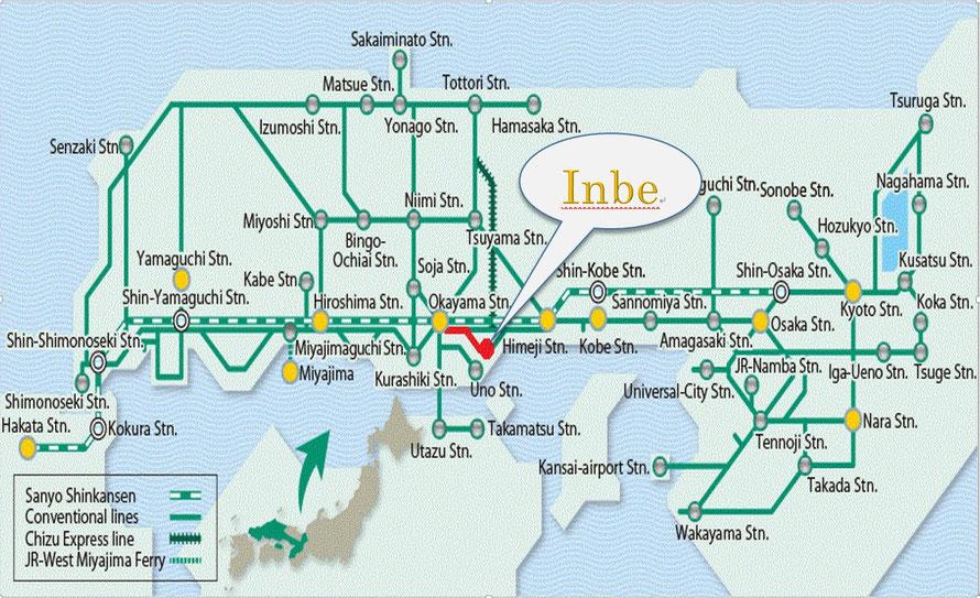 Japan West Inbe