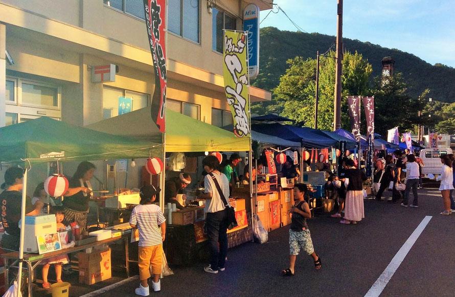 Okayama Inbe Festival ,いんべ100万人プロジェクトのむかし夜市