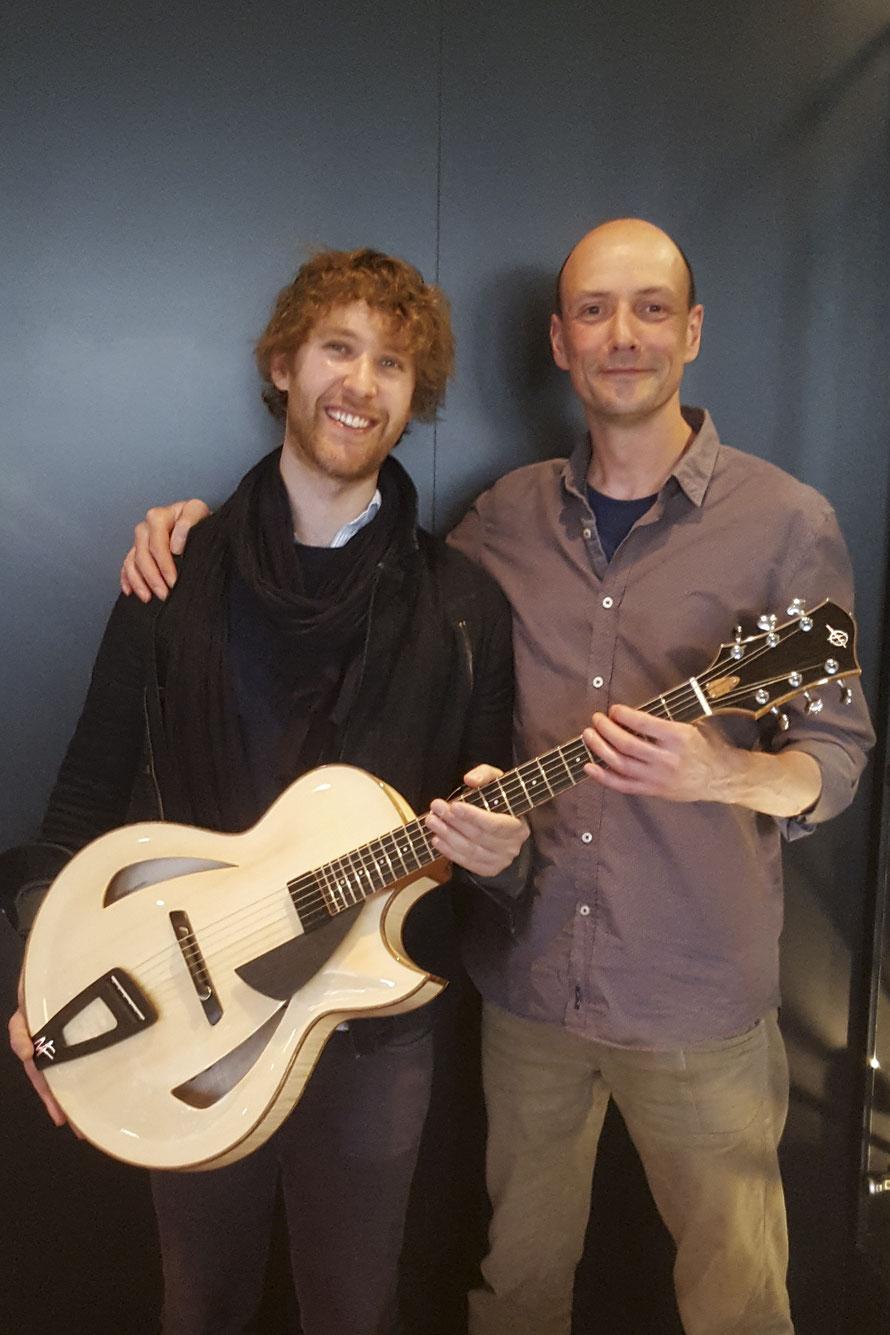 Nir Felder Gear: Heeres Guitars Montreux Model