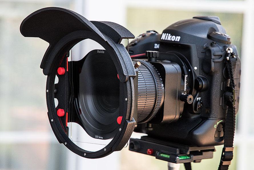 Praxistest: NIKON D4 mit PC-E 24 mm Shift/Tilt, HAIDA Filterhalter 100 und dem Filterprotector mit Weitwinkelblende von Manfred Zober-Frede, www.bonnescape.de