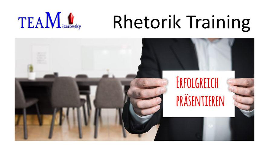 Rhetorik Training und Coaching   Harald Mizerovsky
