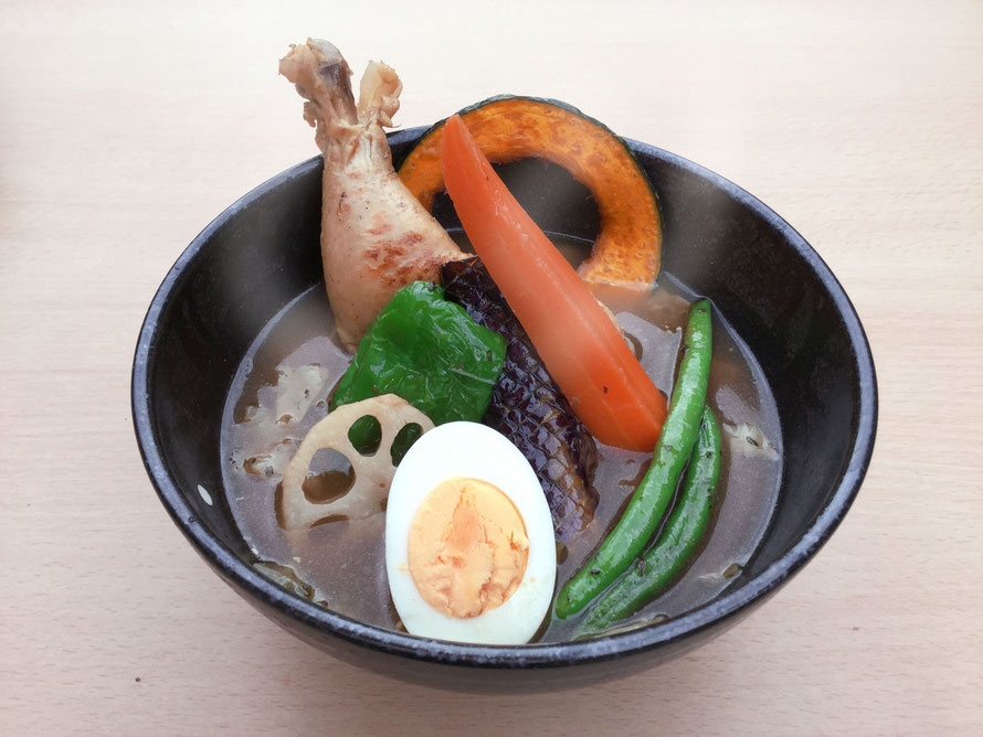 岐阜県 各務原 スープカレー もんきーすぱいす