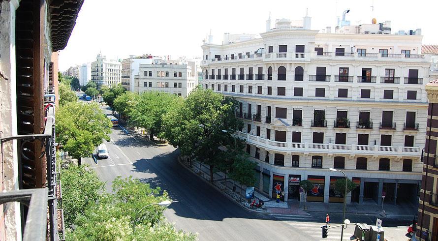 Vistas calle Alcalá