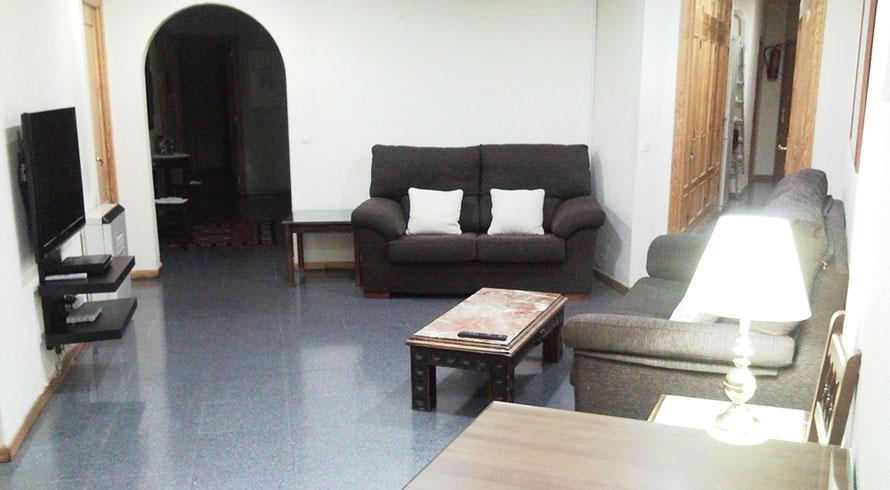 Salón-Comedor Residencia Santa Gema